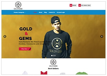 Gold & Gems Store