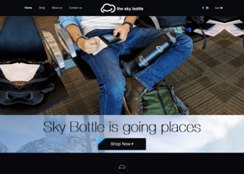 the sky bottle