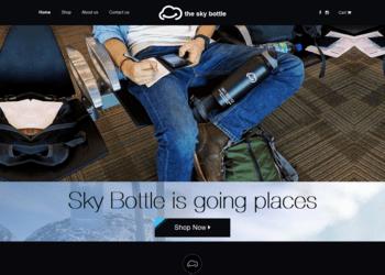 the sky bottle